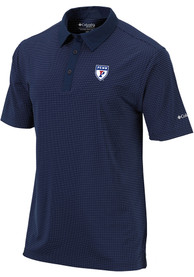 Pennsylvania Quakers Columbia Sunday Polo Shirt - Navy Blue
