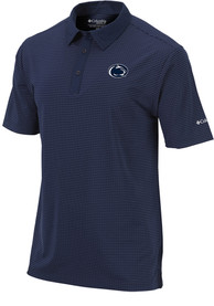 Penn State Nittany Lions Columbia Sunday Polo Shirt - Navy Blue