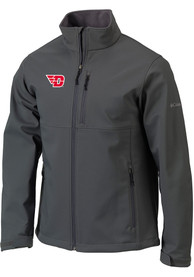 Dayton Flyers Columbia Ascender Heavyweight Jacket - Charcoal