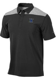 Xavier Musketeers Columbia Utility Polo Shirt - Charcoal