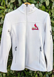 St Louis Cardinals Womens Columbia Give and Go Light Weight Jacket - Grey