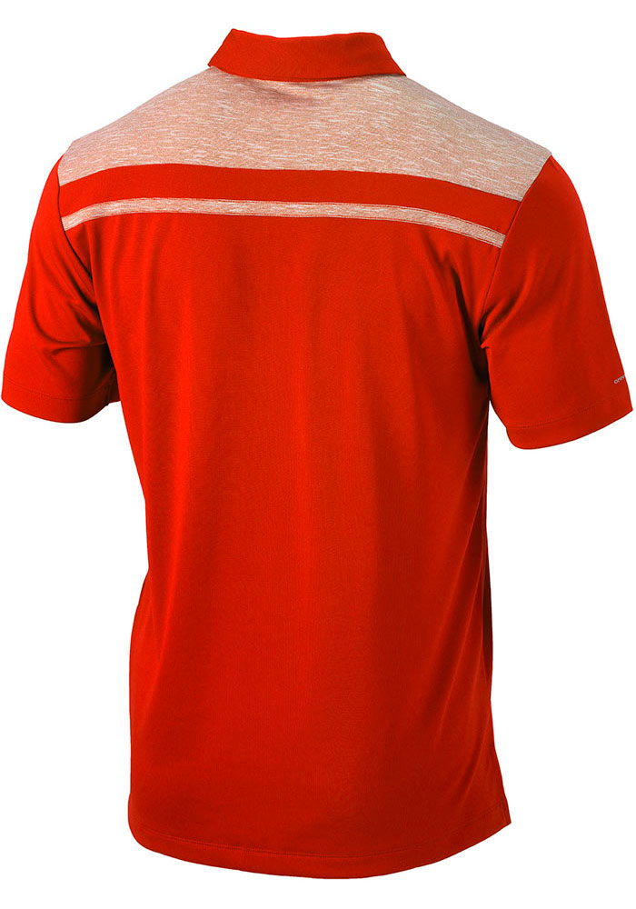 Columbia FC Cincinnati Mens Orange Utility Short Sleeve Polo - Image 2