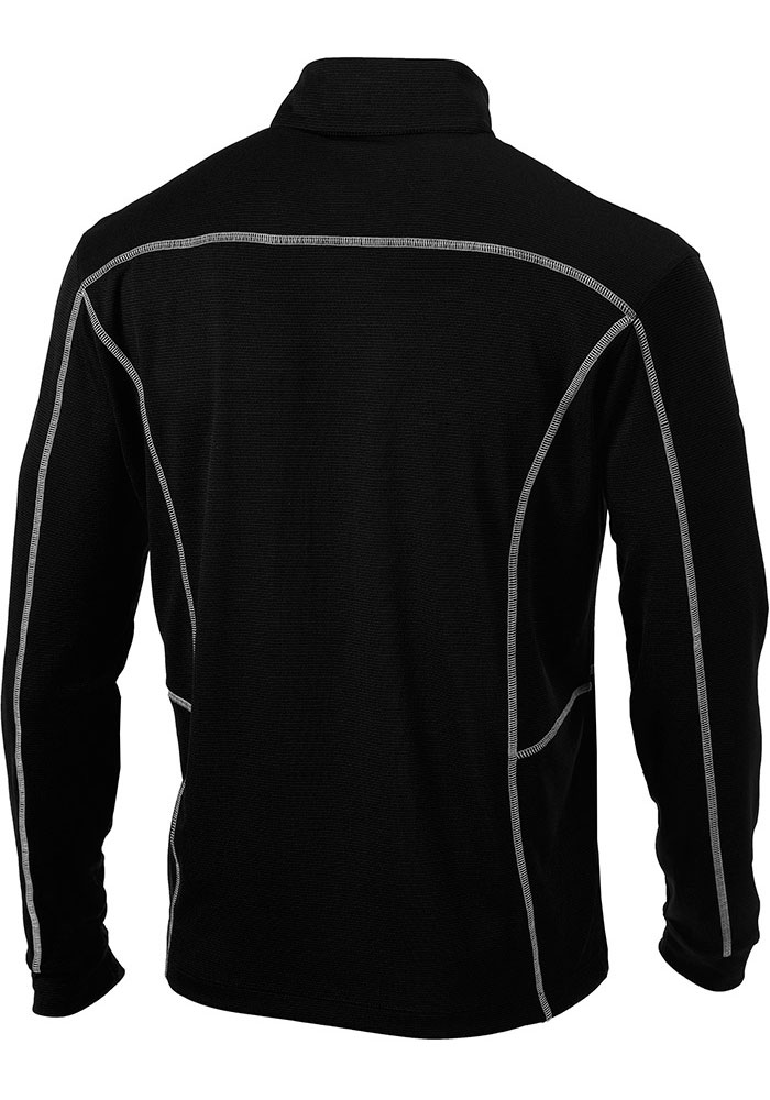 Columbia FC Cincinnati Mens Black Shotgun Long Sleeve 1/4 Zip Pullover - Image 2