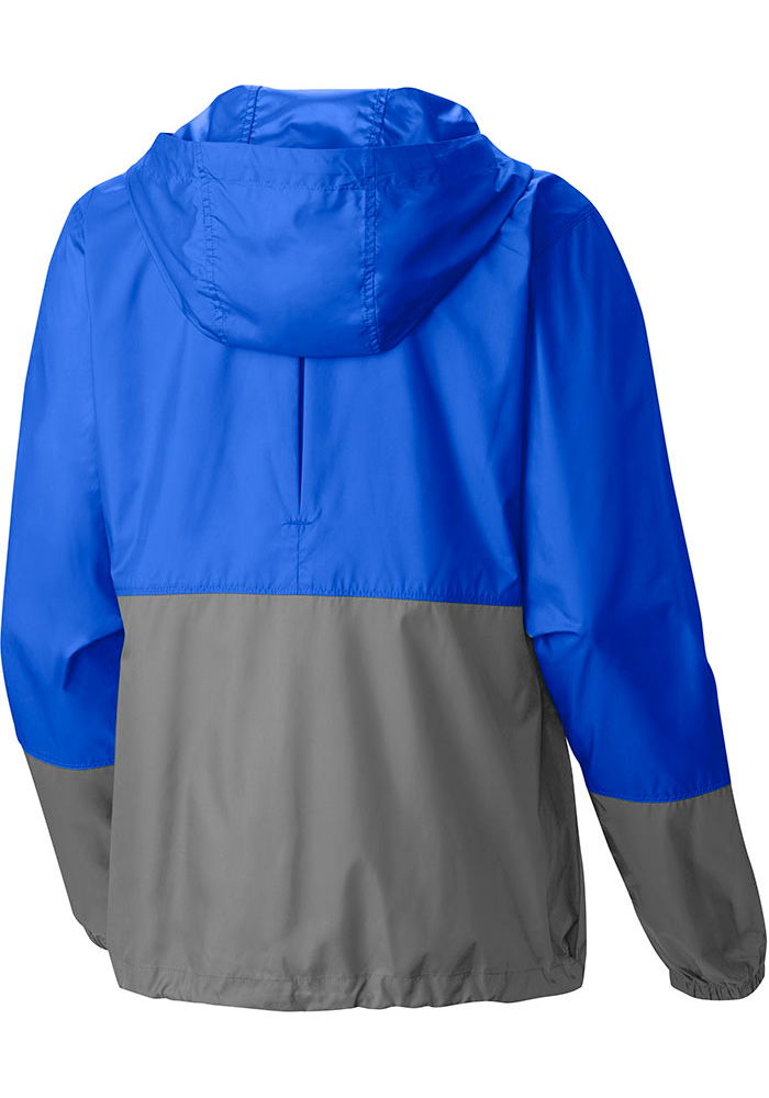 Columbia Chicago Cubs Womens Blue Flash Forward Light Weight Jacket - Image 2