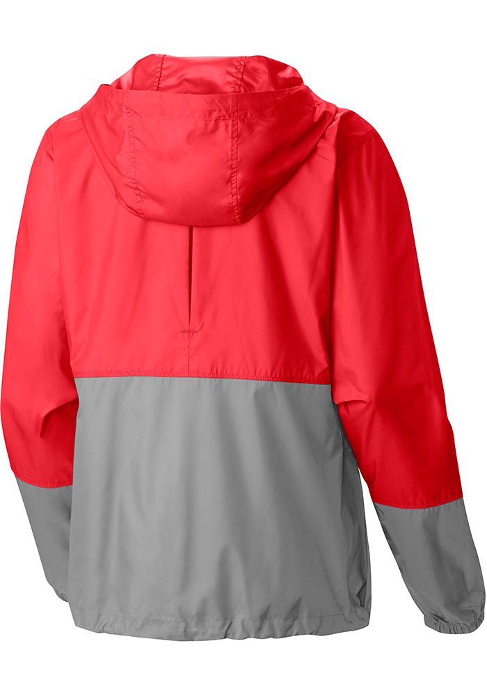 Columbia St Louis Cardinals Womens Red Flash Forward Light Weight Jacket - Image 2