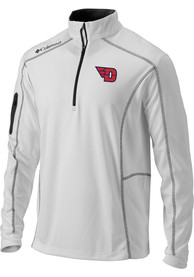 Columbia Dayton Flyers White Shotgun 1/4 Zip Pullover