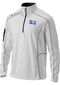 Saint Louis Billikens Columbia Shotgun 1/4 Zip Pullover - White