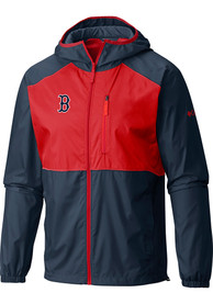 Columbia Boston Red Sox Navy Blue Flash Forward Windbreaker Light Weight Jacket