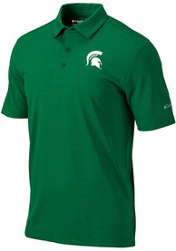 Michigan State Spartans Columbia One Swing Polo Shirt - Green
