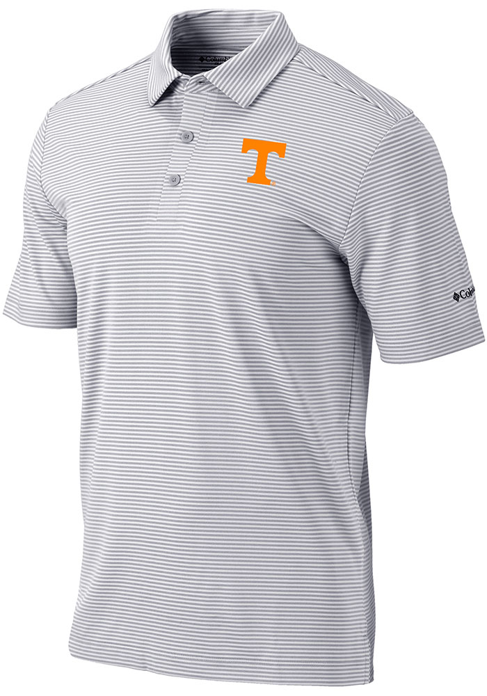 Tennessee Volunteers Columbia One Swing Polo Shirt - Grey