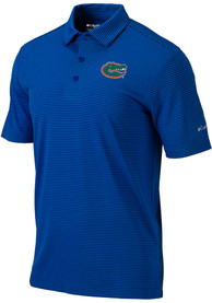 Florida Gators Columbia One Swing Polo Shirt - Blue