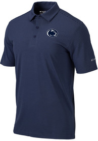 Penn State Nittany Lions Columbia One Swing Polo Shirt - Navy Blue