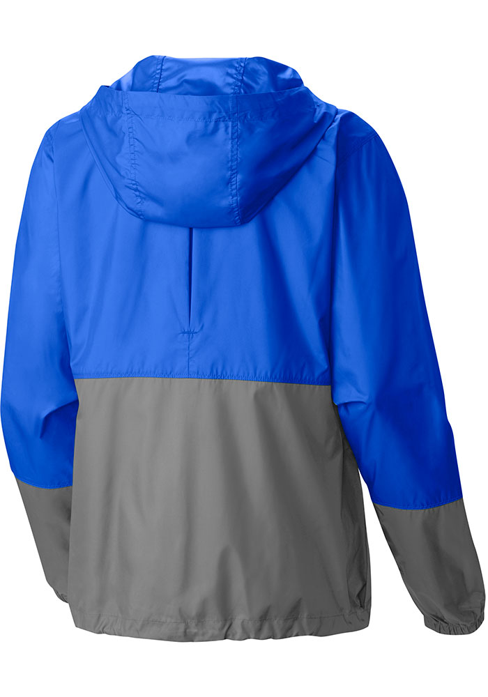 Columbia Los Angeles Dodgers Womens Blue Flash Forward Windbreaker Light Weight Jacket - Image 2