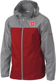 Dayton Flyers Columbia Glennaker Lake II Light Weight Jacket - Red