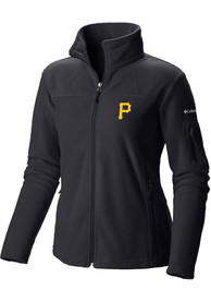 Pittsburgh Pirates Womens Columbia Give And Go Light Weight Jacket - Black