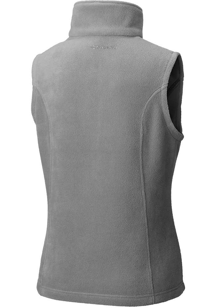 Columbia Washington Nationals Womens Grey Benton Springs Vest - Image 2