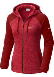 St Louis Cardinals Womens Columbia Darling Days Full Zip Jacket - Red