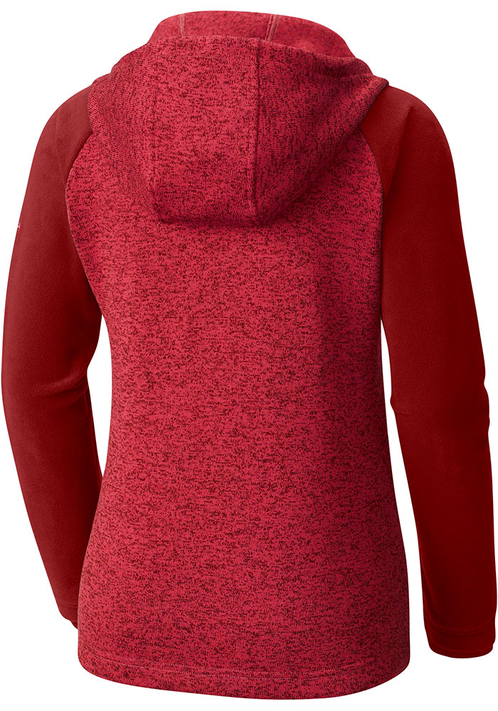 Columbia St Louis Cardinals Womens Red Darling Days Long Sleeve Full Zip Jacket - Image 2