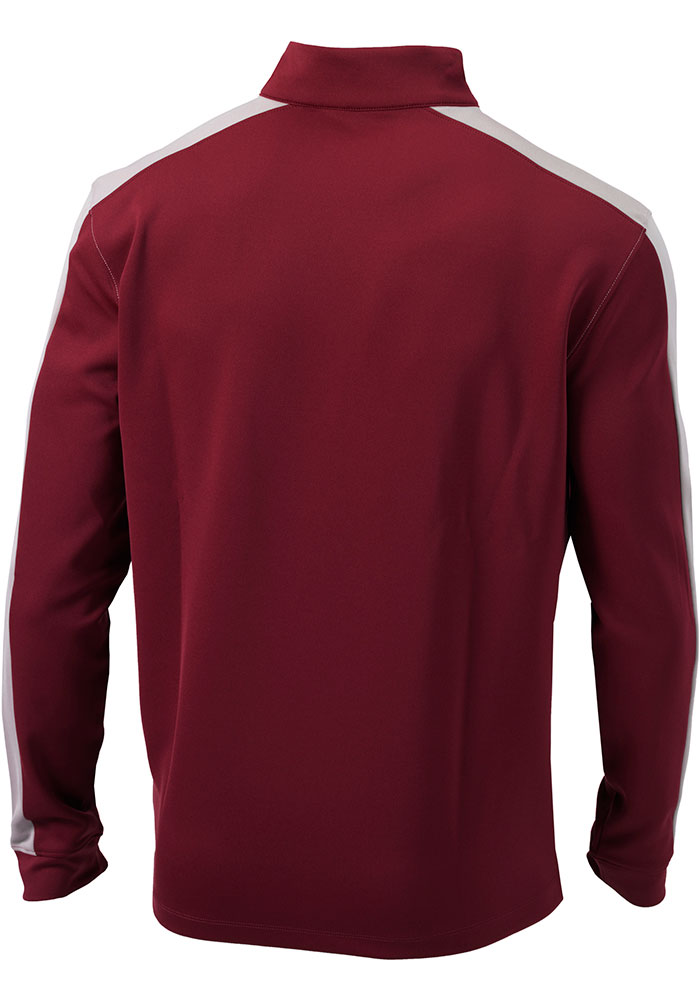 Columbia Atlanta United FC Mens Red Waggle Long Sleeve 1/4 Zip Pullover - Image 2