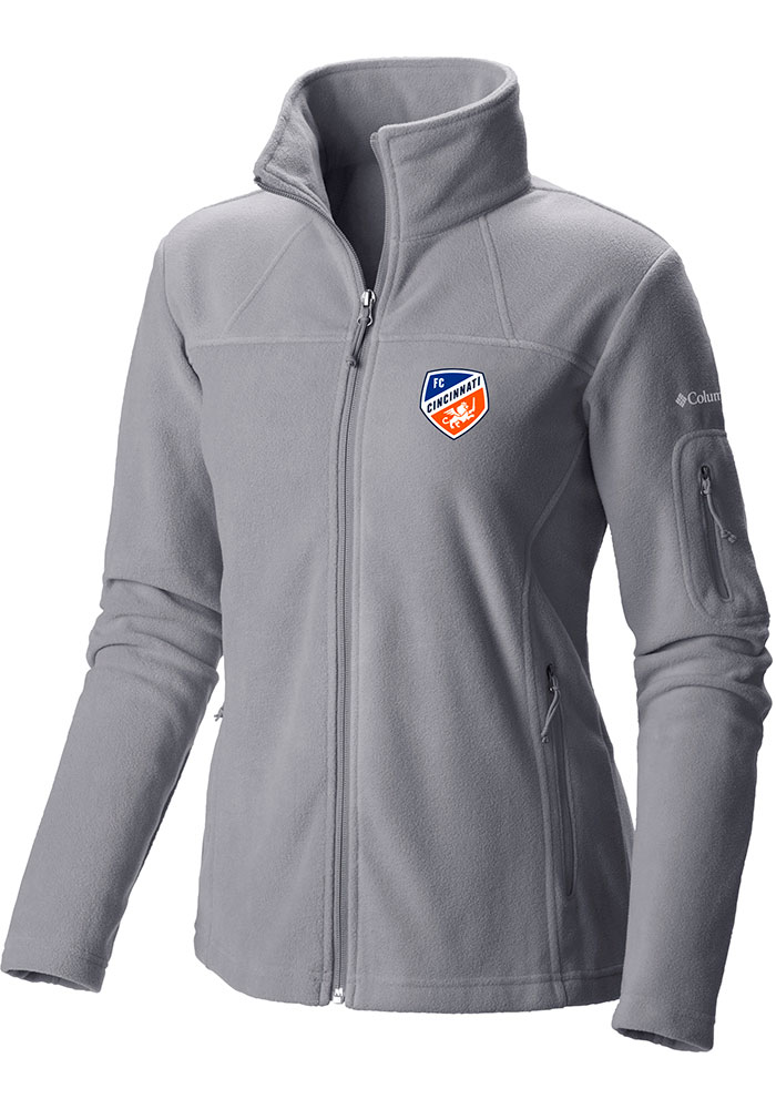 Columbia FC Cincinnati Womens Grey Give and Go Light Weight Jacket - Image 1