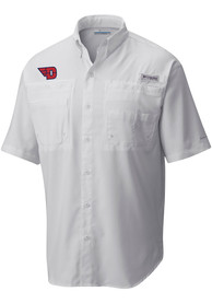 Columbia Dayton Flyers White Tamiami Dress Shirt