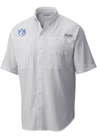 Columbia Saint Louis Billikens White Tamiami Dress Shirt
