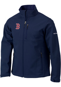 Columbia Boston Red Sox Navy Blue Ascender Medium Weight Jacket