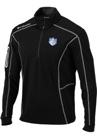 Columbia Saint Louis Billikens Black Shotgun 1/4 Zip Pullover