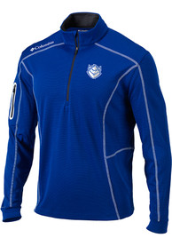 Columbia Saint Louis Billikens Blue Shotgun 1/4 Zip Pullover