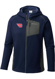 Dayton Flyers Columbia Jackson Creek Medium Weight Jacket - Navy Blue