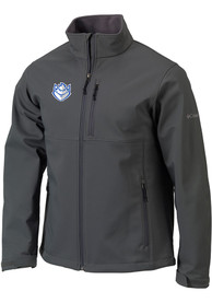 Saint Louis Billikens Columbia Ascender Heavyweight Jacket - Charcoal