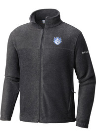 Saint Louis Billikens Columbia Flanker II Medium Weight Jacket - Charcoal