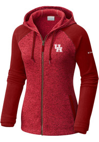 Columbia Houston Cougars Womens Red Darling Days Full Zip Jacket