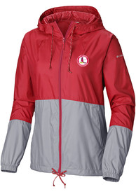 St Louis Cardinals Womens Columbia Flash Forward Light Weight Jacket - Red