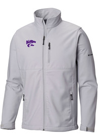 K-State Wildcats Columbia Ascender Heavyweight Jacket - Grey