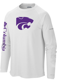 K-State Wildcats Columbia Terminal Tackle T-Shirt - White
