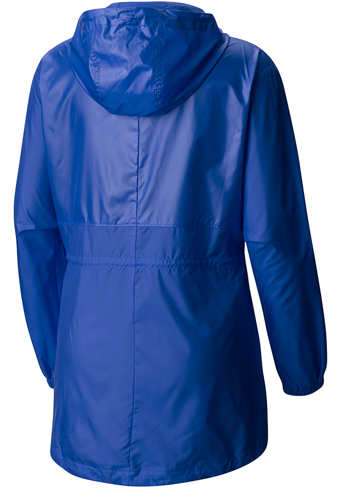 Columbia Chicago Cubs Womens Blue Flashback Light Weight Jacket - Image 2