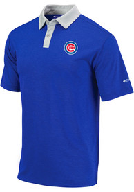 Chicago Cubs Columbia Range Polo Shirt - Blue