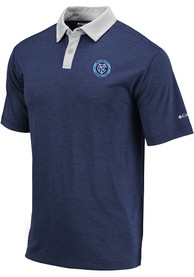 New York City FC Columbia Range Polo Shirt - Navy Blue