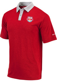 New York Red Bulls Columbia Range Polo Shirt - Red