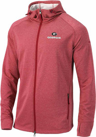 Georgia Bulldogs Columbia Ace Full Zip Jacket - Red