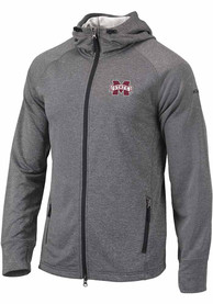Mississippi State Bulldogs Columbia Ace Full Zip Jacket - Grey