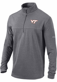 Virginia Tech Hokies Columbia Soar 1/4 Zip Pullover - Black