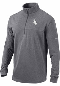 Chicago White Sox Columbia Soar 1/4 Zip Pullover - Black