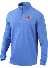 Chicago Cubs Columbia Soar 1/4 Zip Pullover - Blue