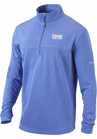 Los Angeles Clippers Columbia Soar 1/4 Zip Pullover - Blue
