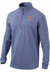Boston Red Sox Columbia Soar 1/4 Zip Pullover - Navy Blue