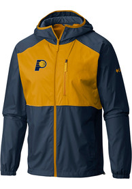 Indiana Pacers Columbia Flash Forward Light Weight Jacket - Navy Blue