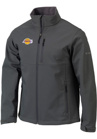 Los Angeles Lakers Columbia Ascender Medium Weight Jacket - Grey