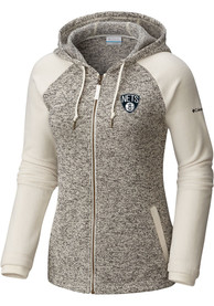 Brooklyn Nets Womens Columbia Darling Days Full Zip Jacket - White
